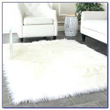 round fur rug faux grey fur rug ikea