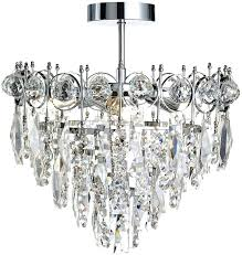 flush crystal chandelier polished chrome 3 lamp semi flush crystal chandelier flush mount crystal chandelier canada