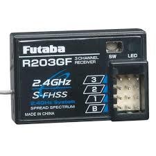 Futaba Receiver Chart Futaba R203gf 3 Channel S Fhss Receiver