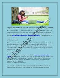 Affordable Resume Writing Services Why Do You Need Massachusetts Professional Resume Writing