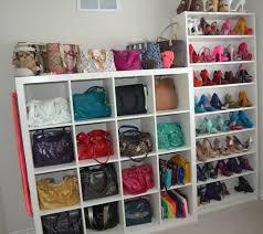 Purse Closet Organizer Target Closet Ideas Create A Well Purse