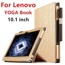 case for lenovo yoga book protective smart cover faux leather tablet for yoga book 10 1 inch