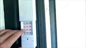 reprogramming garage door remotes garage door opener keypad programming new overhead garage door opener remote garage