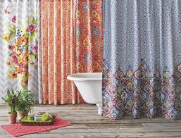 cost plus world market s unique shower curtains and stylish shower curtain rings means we are your
