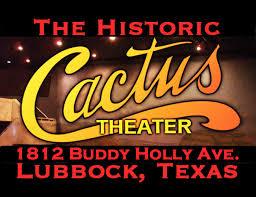 Cactus Theater Lubbock Seating Chart Cactus Theater