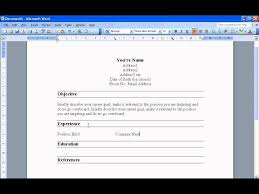 How To Make Resume Onosoft Word An Easy In Youtube Prepare Do You A