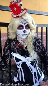 dia de los muertos theatrical makeup