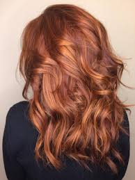 Redhead Red Hair Balayage Copper Davines Hair Red