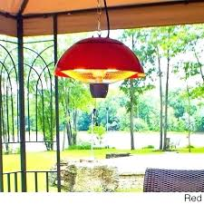 hanging patio heater. Hanging Outdoor Heater Electric Infrared Red Natural Gas . Patio