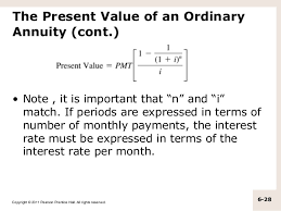 Present Value Of Annuity Formula Magdalene Project Org