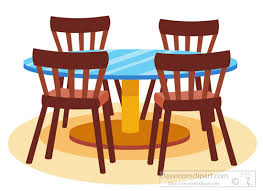 dining chair clipart. Interesting Chair Diningtablechairsfurnitureclipartjpg With Dining Chair Clipart