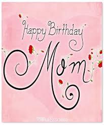 Happy Birthday Mom Heartfelt Mother's Birthday Wishes WishesQuotes Inspiration Birthday Quotes For Mom