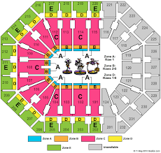 Barclays Center Seating Chart For Disney On Ice 16 True Barclays Arena Seating Chart