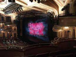 Winter Garden Theatre Seating Chart School Of Rock Winter Garden Theater Nyc Seating Garden And Modern House