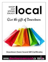 gift certificates owen sound downtown improvement area christmas gift certificate poster pdf jpg