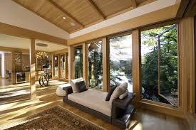 Summer House Design Group Modern Shaker Style Lake House In Upstate Ny Blond Wood