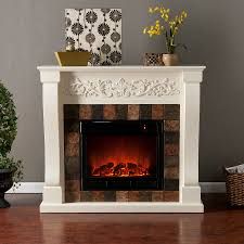 holly martin calgary electric fireplace ivory