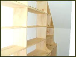 wood closet shelving ideas designs