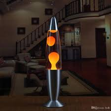 Metal Base Lava Lamp Wax Volcano Style Night Light Jellyfish Nightlight Glare Incandescent Lava Lighting Lamps
