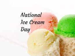 National Ice Cream Day in 2021/2022 ...