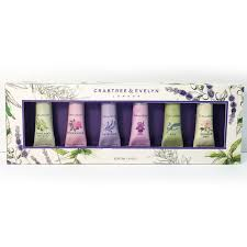 crabtree evelyn hand cream collection gift set 6 x 25g