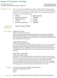 Templates Resume Awesome Hospital Cleaning Resume Templates Betogether