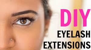 diy lash extensions