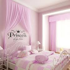 princess bedroom furniture. removable vinyl wall stickers girls fairy tale princess bedroom pink decals furniture u