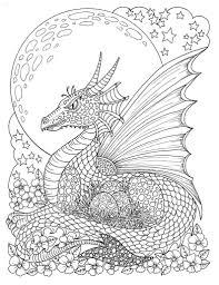 Fantasy Thema Kleurplaten Boek Feeën Draken Pixies Etsy