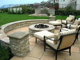 outdoor patio designs pics design ideas concrete furniture fire pit magnificent with fireplace