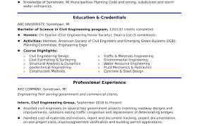 Civil Engineer Sample Resume Certificate Of Non Employment Sample New Sample Resume For An Entry 39
