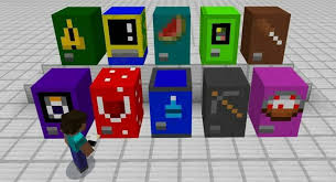 How To Make A Vending Machine Minecraft Beauteous MineMachine Addon Minecraft Amino