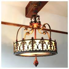 spanish style chandeliers chandelier forged iron