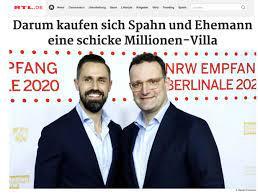 تقارير صحفية: وزير الصحة الألماني يشتري مع زوجه فيلا بقيمة ٤ ملايين يورو في  برلين - Der Telegraph