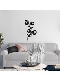 metal flowers wall hanging decorative