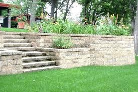 retaining wall design ideas garden wall ideas design homey inspiration landscape retaining wall ideas with boulders