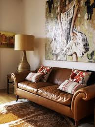 colored leather sofas. Carmel Colored Leather Couch. #colorofthemonth #caramel Sofas E