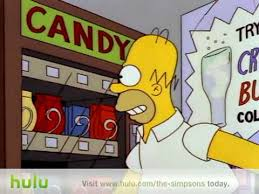 Simpsons Vending Machine Delectable Homer Vs Vending Machine YouTube