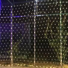 Christmas Net Lights Us 38 36 14 Off 6 4m Led String Lights Net Lights Fishnet Lights Christmas Outdoor Waterproof Stars New Year Wedding Led Net Light In Lighting