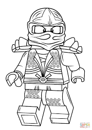 Lego Ninjago Coloring Pages Lloyd Zx
