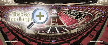 O Show Las Vegas Seating Chart Moda Center Rose Garden Arena Seat Row Numbers Detailed