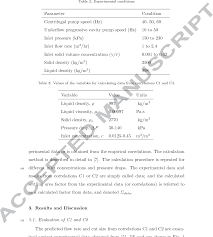 Paper Equivalent Chart Hydrocyclone Equivalent Settling Area Factor At Higher