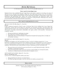 Child Care Worker Resume Examples Samples Daycare Assistant Director