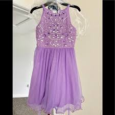 Jeweled Bodice Short A Line Party Dress