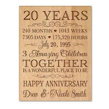 interior design fo 20th wedding anniversary gift gifts for my husband ideas