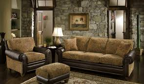 Living Room With Brown Furniture Furniture Amazing Rustic Living Room Furniture Camo Living Room