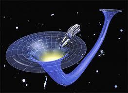 Resultado de imagen de La nave es engullida por el agujero negro