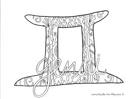 Free Printable Zodiac Coloring Pages From