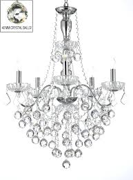 chandeliers crystal ball chandelier elegant 5 light crystal chandelier lighting pendant fixture with faceted crystal