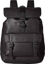 ... sale coach bleecker backpack in pebbled leather ji black backpack bags  a3fde 5a425